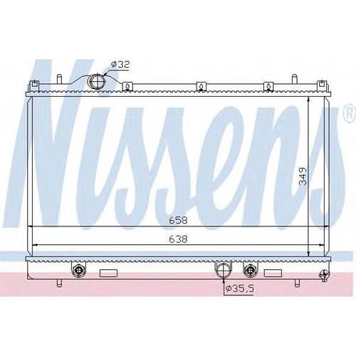 Радиатор CHRYSLER NEON II 1.6-2.0 AT3 NISSENS 69209