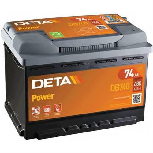 Аккумуляторы DETA DB740