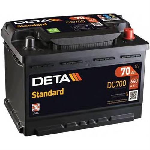 Аккумуляторы DETA DC700
