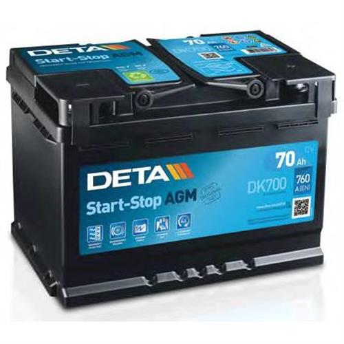 Аккумуляторы DETA DK700