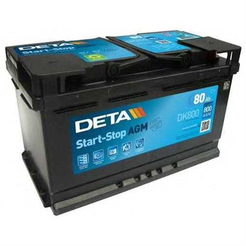 Аккумуляторы DETA DK800