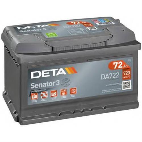 Аккумуляторы DETA DA722