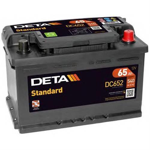 Аккумуляторы DETA DC652