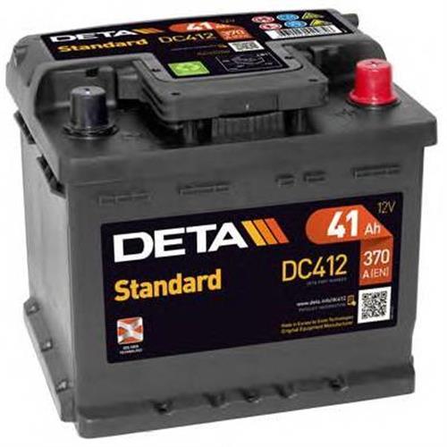 Аккумуляторы DETA DC412