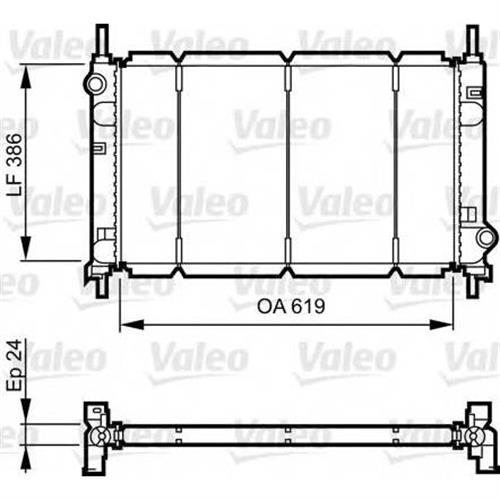Радиатор VALEO 731011