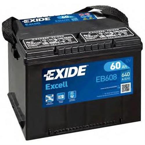 Аккумуляторы EXIDE EB608