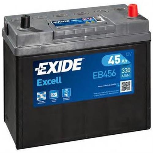 Аккумуляторная батарея 14.7/13.1 евро полярность 45Ah 300A 234/127/220 EXIDE EB456