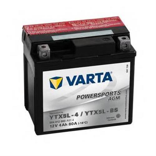 Аккумуляторы VARTA 504012003A514