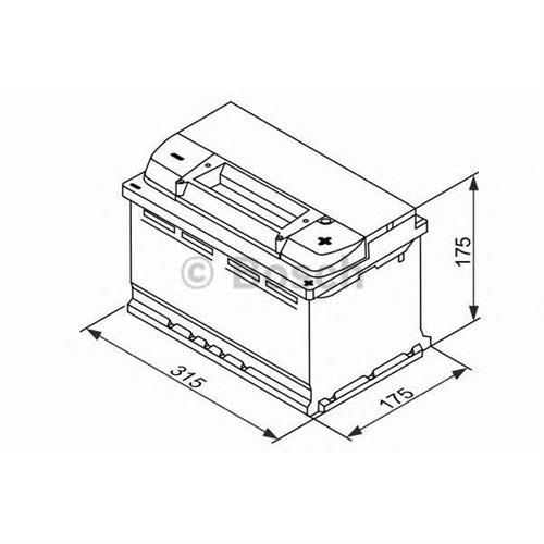 Аккумуляторы BOSCH 0092S4E100