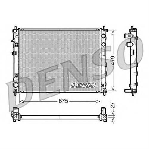 Радиатор DENSO DRM36012
