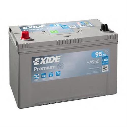 Аккумуляторная батарея 19.5/17.9 прямая полярность 95Ah 800A 306/173/222 CARBON BOOST EXIDE EA955