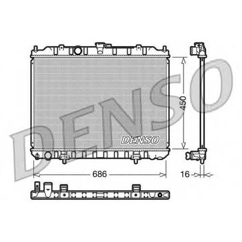 Радиатор DENSO DRM46004