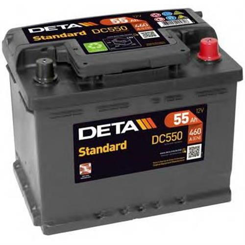 Аккумуляторы DETA DC550