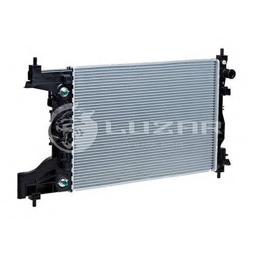 Радиатор охлаждения Chevrolet Cruze (09-) 1.6 AT LUZAR LRC05153
