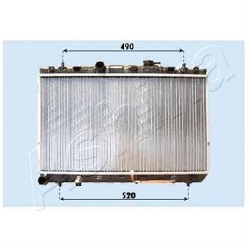 Радиатор двигателя ELANTRA ASHIKA RDA283100
