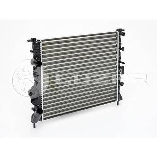 Радиатор охлаждения Renault Logan (04-) LUZAR LRCRELO04334