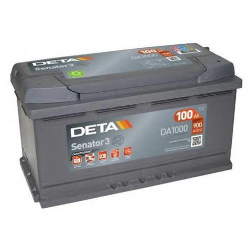 Аккумуляторы DETA DA1000