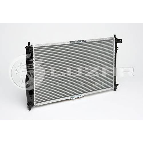 Радиатор охлаждения Chevrolet Lanos (02-) A/C LUZAR LRC0561B