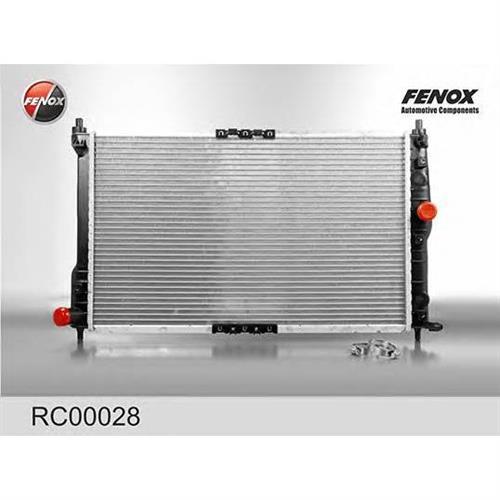 Радиатор системы охлаждения Daewoo Lanos/Nubira 1.4-2.0 97 FENOX RC00028