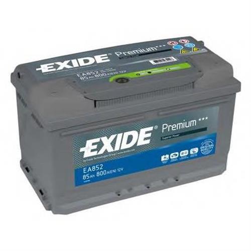 Аккумуляторная батарея 19.5/17.9 евро полярность 85Ah 800A 315/175/175 EXIDE EA852