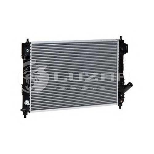 Радиатор охлаждения Chevrolet Aveo T255 (08-) AT LUZAR LRC05180