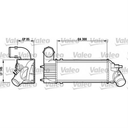 Радиатор VALEO 817437