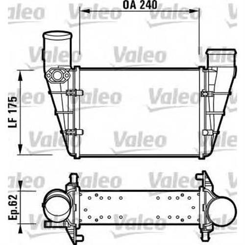 Интеркулер VALEO 817625