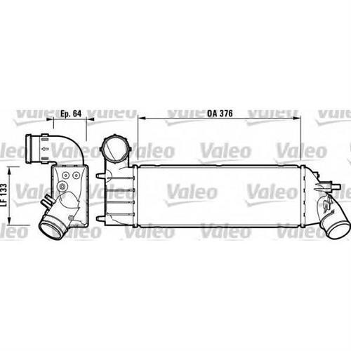 Интеркулер valeo VALEO 817650