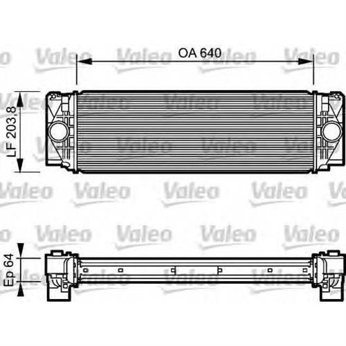 Интеркулер VW Crafter 30/35/50 2.5TDi 06 VALEO 818732