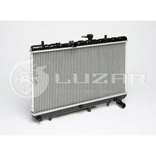 Радиатор охлаждения Kia Rio (00-) LUZAR LRCKIRI05110