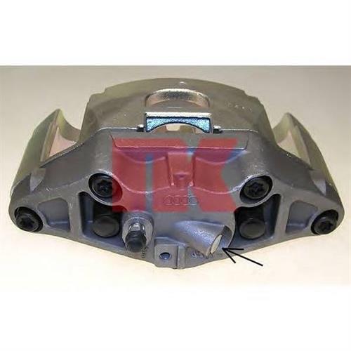 [4F0615124] суппорт тормозной пер.п. Audi A4/A6/A8 2.0FSI-3.2FSI/2.0TDI 03 ATE d.60 NK 2147298