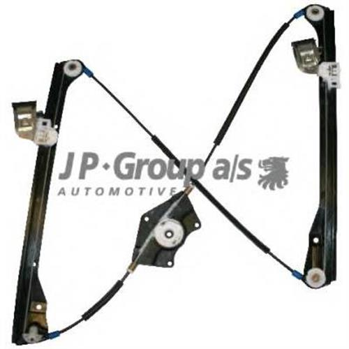 [3B1837461] механизм стеклоподъемн.электр.пер.лев.(без мотора) VW Passat 97-05 JP GROUP 1188101870