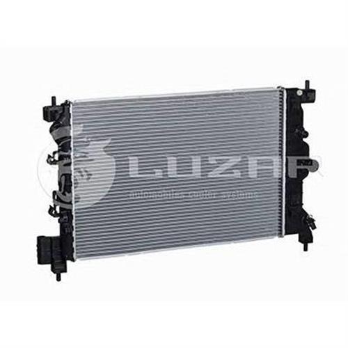 Радиатор охлаждения Chevrolet Aveo T300 (11-) LUZAR LRC0595