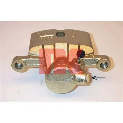 [MB858464] суппорт тормозной задн. лев. Mitsubishi Pajero 3.0/3.5 V6/2.5TD/2.8TD 91-00 NK 213073