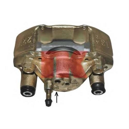 [B46033990B] суппорт тормозной пер.лев. Mazda 323 1.5/1.8 89-98 d.54 NK 213295