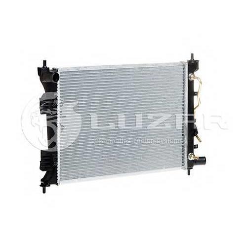 Радиатор охлаждения Hyundai Solaris (10-) AT LUZAR LRC081L4
