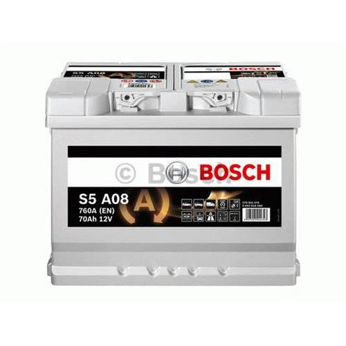 Аккумуляторная батарея 19.5/17.9 евро полярность 70Ah 760A 278/175/190 AGM BOSCH 0092S5A080
