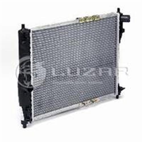 Радиатор охлаждения Chevrolet Lanos (02-) LUZAR LRC0563B