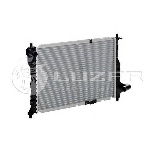 Радиатор охлаждения Chevrolet Spark (05-) LUZAR LRCCHSP05175