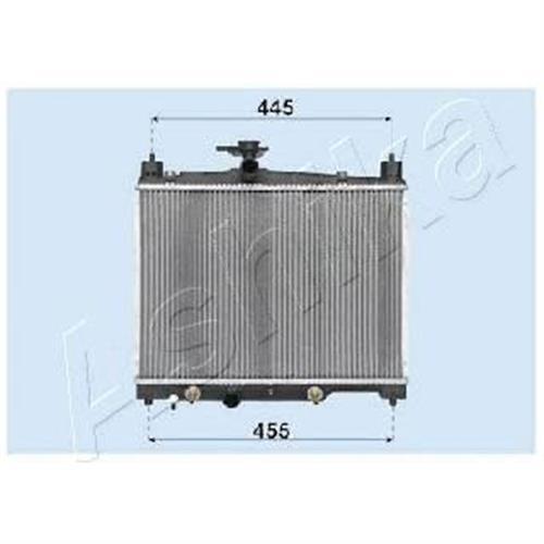 Радиатор двигателя TOYOTA YARIS ASHIKA RDA153014