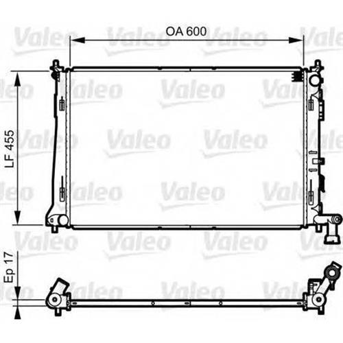 Радиатор VALEO 735564