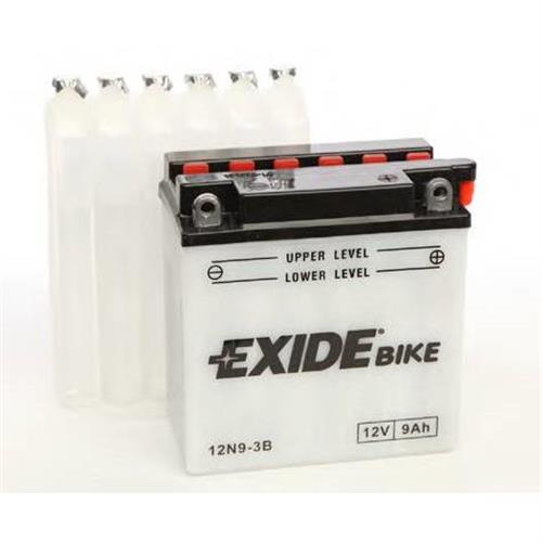 Аккумуляторная батарея евро полярность 9Ah 85A 137/76/140 moto EXIDE 12N93B