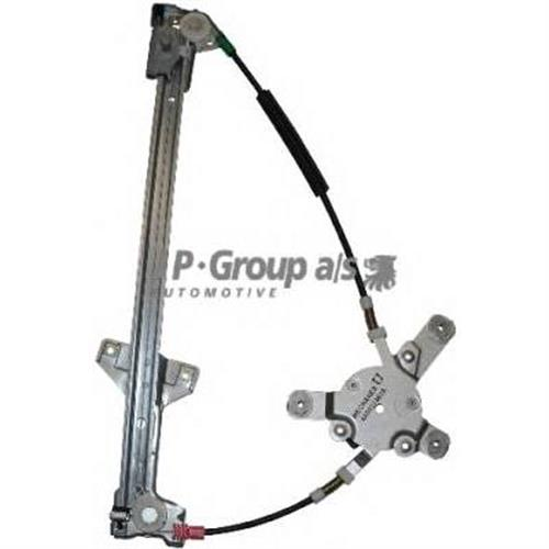 [4A0837462A] механизм стеклоподъемн.электр.пер.пр.(без мотора) Audi 100/A6 90-95 JP GROUP 1188102080