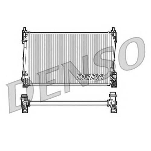Радиатор двигателя DENSO DRM20090
