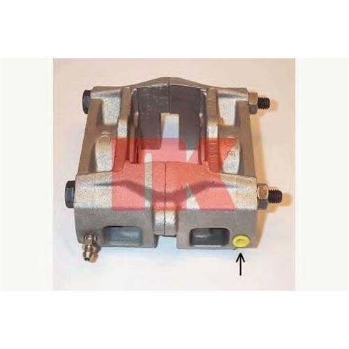 [4400F6] суппорт тормозной зад.лев. Citroen Xantia 1.8-3.0/1.9D-2.1TD 95 d.36 NK 211985