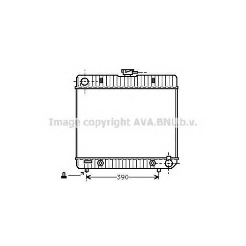 Радиатор основной AVA QUALITY COOLING MS2043