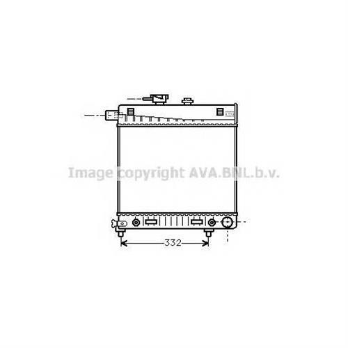 Радиатор основной AVA QUALITY COOLING MSA2150