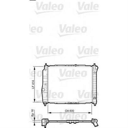 Радиатор VALEO 735158