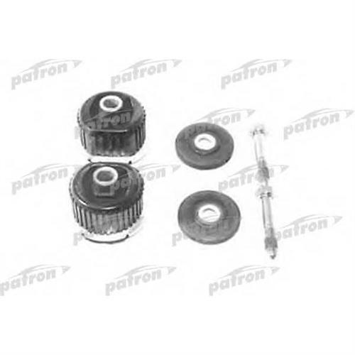 Сайлентблок задней балки передний комплект Mercedes W124/201/202/208 82-02 PATRON PSE1174