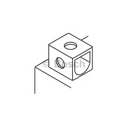 Аккумуляторная батарея прямая полярность 11Ah 140A 150/88/105 YT12A-BS moto BOSCH 0092M60160